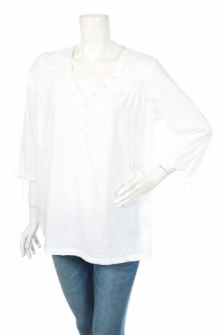 Дамска блуза Ellen Amber, Размер XL, Цвят Бял, Памук, Цена 19,00лв.
