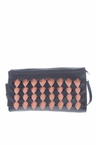 Γυναικεία τσάντα, Χρώμα Μπλέ, Δερματίνη, Τιμή 2,84€