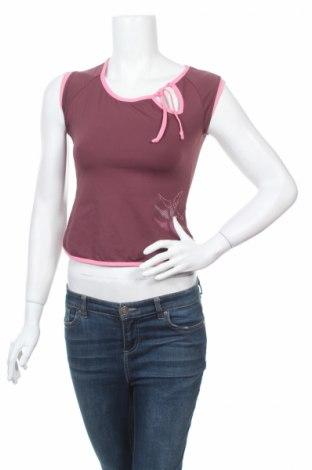 Дамска спортна блуза Domyos, Размер M, Цвят Лилав, Цена 4,20лв.