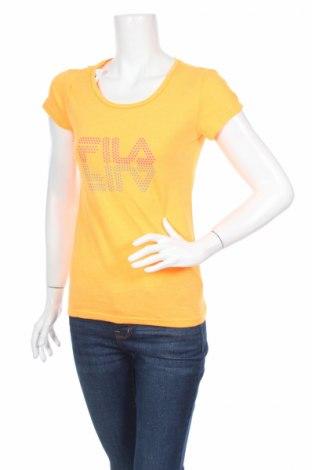 Дамска тениска Fila, Размер S, Цвят Оранжев, Цена 9,00лв.