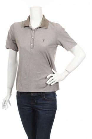 Дамска тениска Golfino, Размер M, Цвят Сив, Цена 8,75лв.