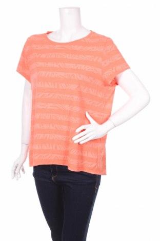 Дамска тениска Mark Adam, Размер XL, Цвят Оранжев, 100% памук, Цена 5,40лв.