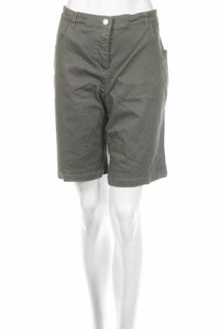 Дамски къс панталон Casual Wear, Размер XXL, Цвят Зелен, 96% памук, 4% еластан, Цена 7,20лв.