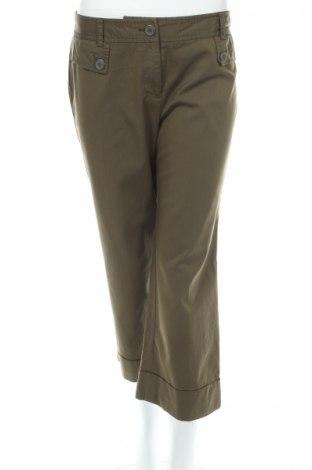 Дамски панталон Loft By Ann Taylor, Размер M, Цвят Зелен, 63% вискоза, 34% полиамид, 3% еластан, Цена 9,83лв.