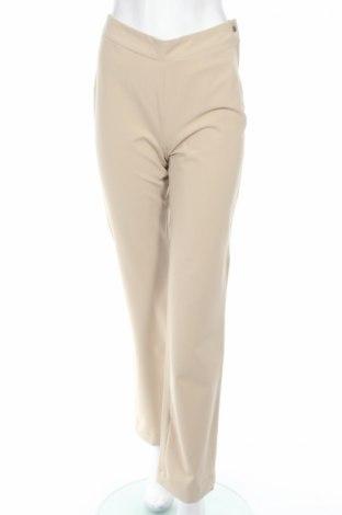 Дамски панталон PLOUMANAC'H, Размер S, Цвят Бежов, 75% полиестер, 20% вискоза, 5% еластан, Цена 29,08лв.