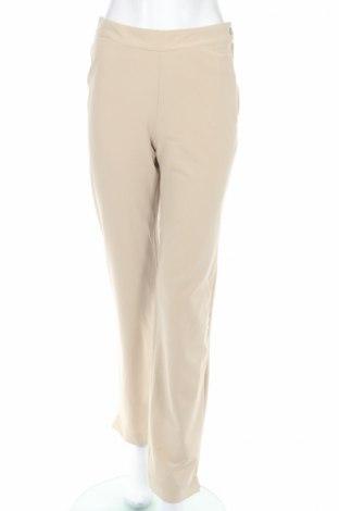 Дамски панталон PLOUMANAC'H, Размер M, Цвят Бежов, 20% вискоза, 75% полиестер, 5% еластан, Цена 95,94лв.