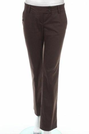 Дамски панталон Pietro Filipi, Размер S, Цвят Кафяв, 50% полиестер, 49% вискоза, 1% еластан, Цена 10,80лв.