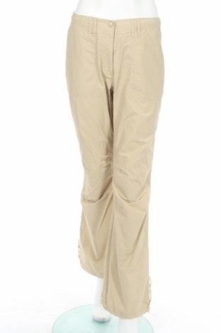 Дамски спортен панталон H&M L.o.g.g, Размер M, Цвят Бежов, 70% памук, 30% полиамид, Цена 7,28лв.