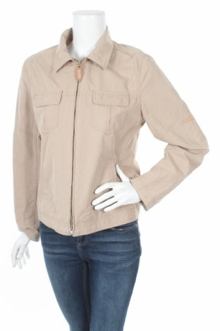 Дамско яке Esprit, Размер M, Цвят Бежов, 85% памук, 15% полиестер, Цена 14,04лв.