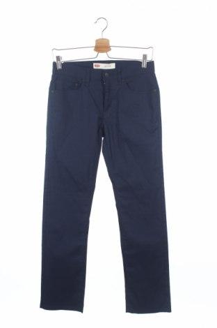 Dětské kalhoty  Levi's, Rozměr 12-13y/ 158-164 cm, Barva Modrá, 72% bavlna, 25% polyester, 3% elastan, Cena  287,00Kč