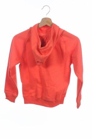 Детски суичър Asics, Размер 8-9y/ 134-140 см, Цвят Оранжев, 65% полиестер, 35% памук, Цена 31,20лв.