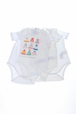 Детско боди Earth Positive, Размер 12-18m/ 80-86 см, Цвят Бял, Памук, Цена 20,15лв.