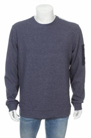 Мъжка блуза Core By Jack & Jones, Размер L, Цвят Син, 72% полиестер, 25% памук, 3% еластан, Цена 34,45лв.