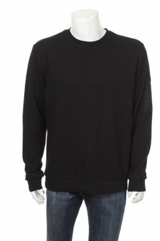 Мъжка блуза Core By Jack & Jones, Размер L, Цвят Черен, 72% полиестер, 25% памук, 3% еластан, Цена 27,30лв.