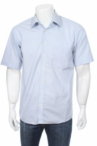 Мъжка риза Canda, Размер S, Цвят Син, Памук, Цена 3,80лв.