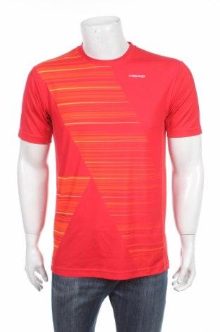 Мъжка тениска Head, Размер M, Цвят Червен, Полиестер, Цена 15,20лв.