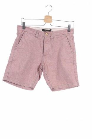 Мъжки къс панталон Premium By Jack & Jones, Размер S, Цвят Розов, 100% памук, Цена 9,30лв.