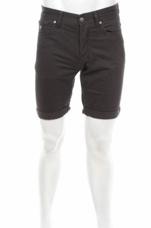 Pantaloni scurți de bărbați Produkt by Jack & Jones, Mărime S, Culoare Gri, Bumbac, Preț 39,26 Lei