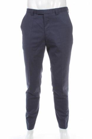Мъжки панталон Hugo Boss, Размер M, Цвят Син, Вълна, Цена 180,75лв.