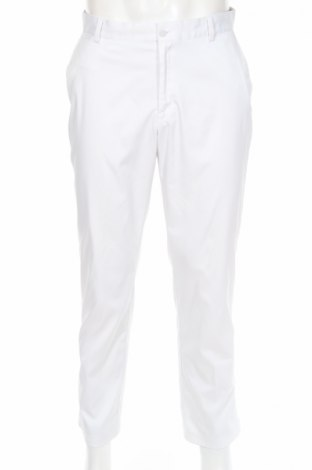 Мъжки спортен панталон Nike Golf, Размер M, Цвят Бял, 95% полиестер, 5% еластан, Цена 29,60лв.