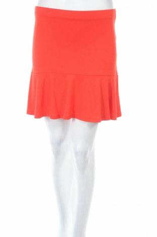 Пола Asos, Размер XS, Цвят Оранжев, 95% вискоза, 5% еластан, Цена 11,67лв.