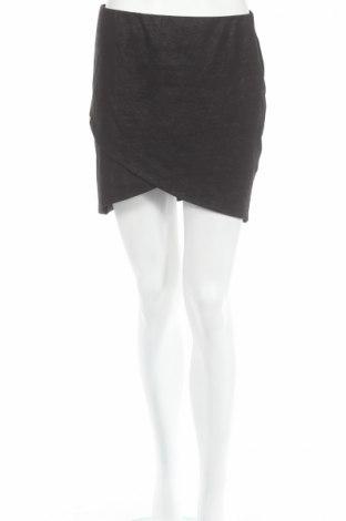Пола Gina Tricot, Размер L, Цвят Черен, 70% вискоза, 25% полиестер, 5% еластан, Цена 7,18лв.