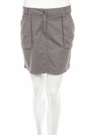 Пола La Redoute, Размер XS, Цвят Сив, 98% памук, 2% еластан, Цена 6,40лв.