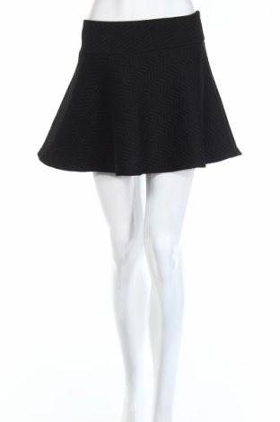 Пола Monki, Размер S, Цвят Черен, 98% памук, 2% еластан, Цена 6,40лв.
