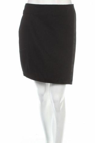 Sukně Naf Naf, Rozměr M, Barva Černá, 62% vlna, 33% polyester, 5% polyamide, Cena  823,00Kč