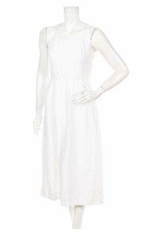 Рокля Abercrombie & Fitch, Размер S, Цвят Бял, 55% лен, 45% вискоза, Цена 85,15лв.
