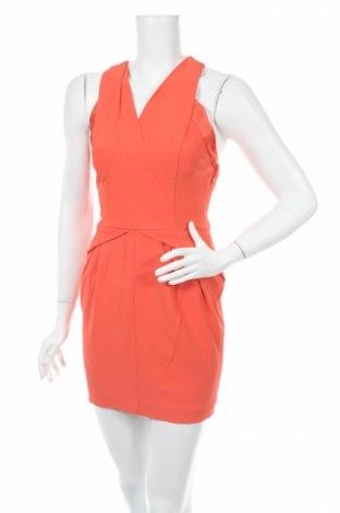 Φόρεμα Atos Lombardini, Μέγεθος L, Χρώμα Πορτοκαλί, 59% βισκόζη, 37% ασετάτ, 4% ελαστάνη, Τιμή 8,25€