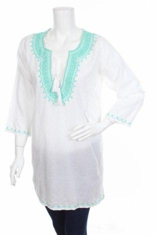 Туника Ellen Amber, Размер S, Цвят Бял, 100% памук, Цена 12,35лв.