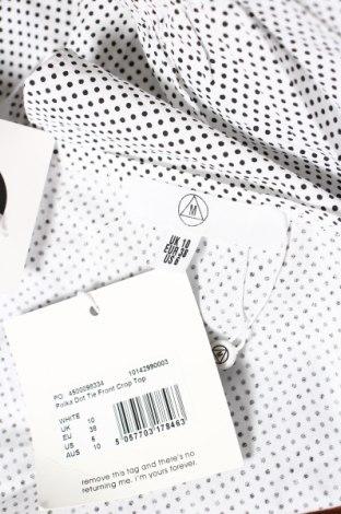 Болеро Missguided, Размер M, Цвят Бял, Памук, Цена 37,44лв.