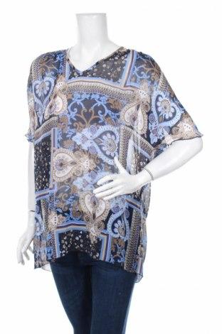 Дамска блуза Afibel, Размер M, Цвят Многоцветен, 100% полиестер, Цена 3,02лв.