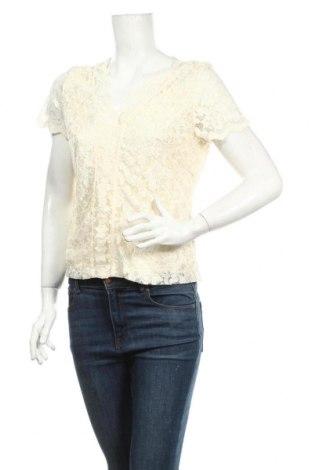 Дамска блуза Anne Weyburn, Размер M, Цвят Екрю, 94% полиамид, 6% еластан, Цена 4,73лв.