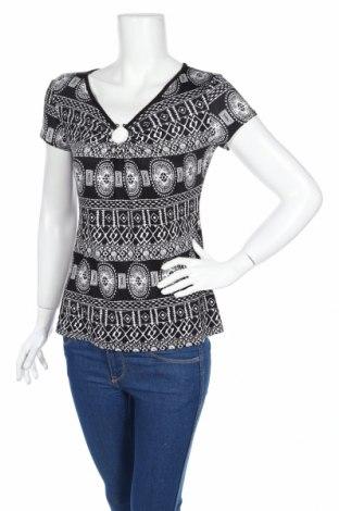 Дамска блуза Armand Thiery, Размер M, Цвят Черен, 93% полиестер, 7% еластан, Цена 3,68лв.