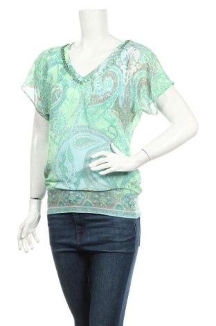 Дамска блуза Atmos Fashion, Размер XS, Цвят Многоцветен, Полиестер, Цена 4,73лв.