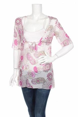 Дамска блуза Fresh Made, Размер S, Цвят Многоцветен, Полиестер, Цена 4,54лв.