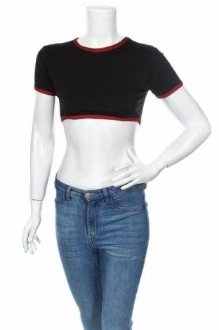 Bluză de femei Missguided, Mărime M, Culoare Negru, 84% poliester, 16% elastan, Preț 13,02 Lei
