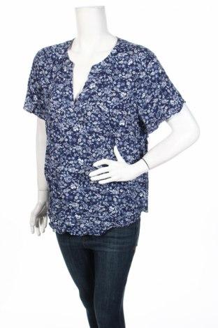 Дамска блуза Old Navy, Размер XL, Цвят Син, Вискоза, Цена 28,56лв.