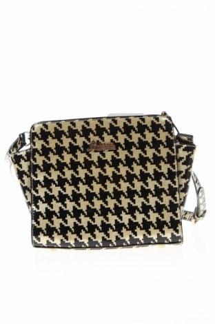Γυναικεία τσάντα, Χρώμα Χρυσαφί, Δερματίνη, Τιμή 8,84€