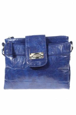 Дамска чанта Nine West, Цвят Син, Еко кожа, Цена 57,46лв.