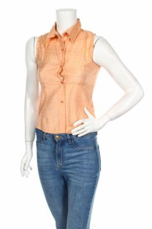Γυναικείο πουκάμισο, Μέγεθος S, Χρώμα Πορτοκαλί, Τιμή 7,29€