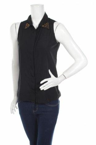 Дамска риза Ann Christine, Размер S, Цвят Черен, Цена 4,73лв.