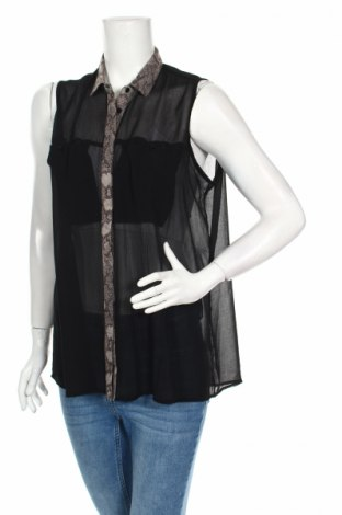 Дамска риза Ark&co, Размер M, Цвят Черен, Цена 4,20лв.