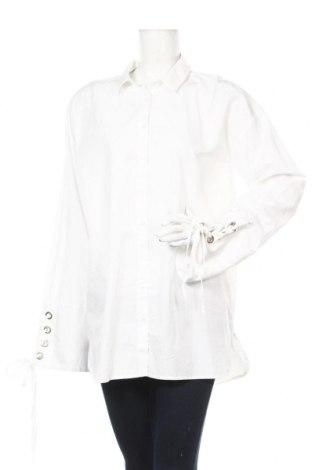 Дамска риза Edited, Размер L, Цвят Бял, 100% памук, Цена 34,56лв.