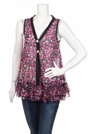 Дамска риза Gina, Размер XS, Цвят Многоцветен, Полиестер, Цена 4,46лв.
