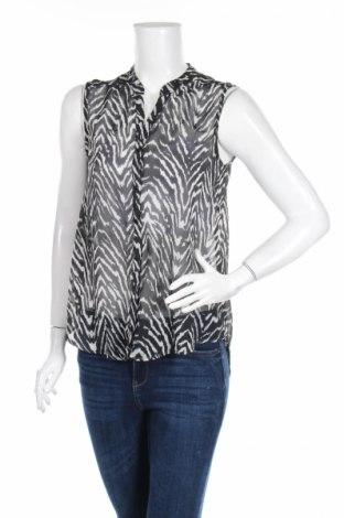 Дамска риза Gina Tricot, Размер S, Цвят Черен, Полиестер, Цена 4,20лв.