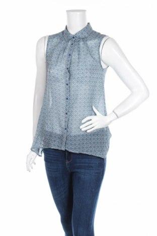 Дамска риза H&M, Размер S, Цвят Син, Цена 4,20лв.