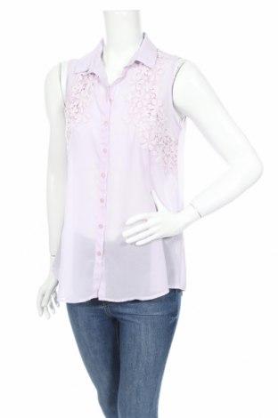Дамска риза LCW, Размер L, Цвят Лилав, Цена 4,46лв.